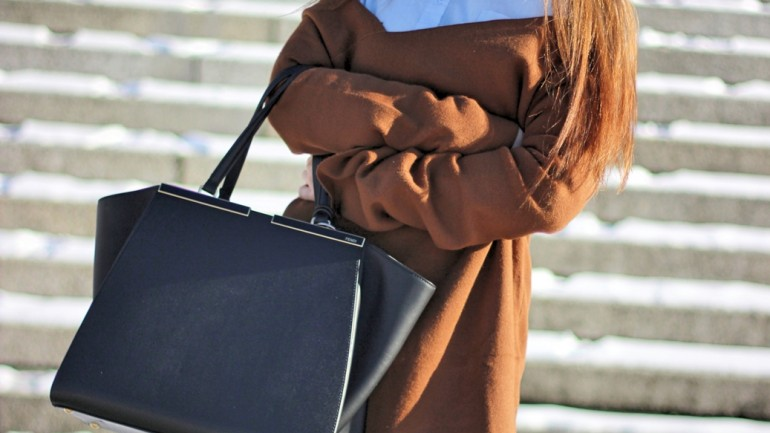 Munich Streetstyle: Blue, Brown & Black Mixup