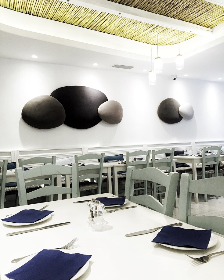 London Travel Guide - Santorini Restaurant, Bayswater